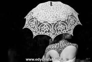 Umbrelă de dantelă model 1