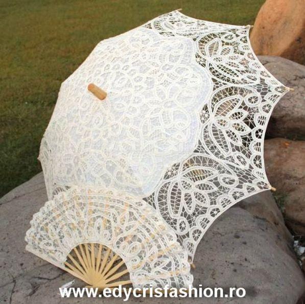 Umbrelă de dantelă model 2